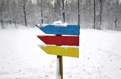 3 пути пойти Стоковая Фотография RF