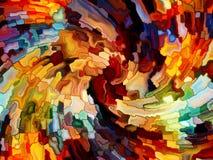 Пути цветного стекла Стоковые Изображения RF