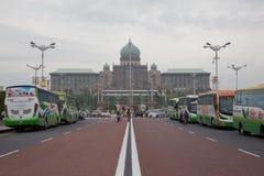 ПУТРАДЖАЙЯ, МАЛАЙЗИЯ - 28-ОЕ СЕНТЯБРЯ: Малайзийская канцелярия премьер-министра Стоковая Фотография RF