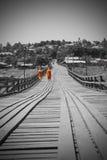 путь Будды Стоковая Фотография RF
