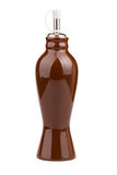 Путь бутылки уксуса Стоковое Фото