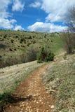 Путь вверх по холму Стоковая Фотография RF