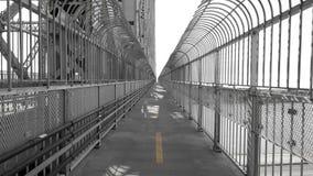 Путь велосипеда на мосте стоковые изображения rf