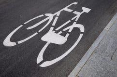 путь велосипеда Стоковые Изображения