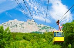 путь веревочки горы Стоковая Фотография