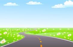 путь весны Стоковое Изображение