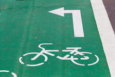 Путь велосипеда Стоковая Фотография