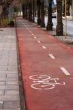 Путь велосипеда. Стоковые Фотографии RF