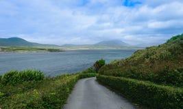 Путь вниз в заливе Dingle Стоковые Фотографии RF
