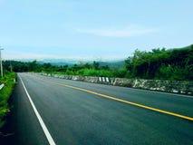 Путь вниз с холма Стоковое фото RF