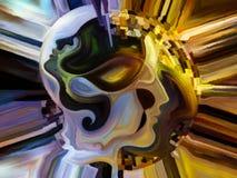 Путь внутренней краски Стоковое Фото