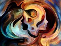 Путь внутренней краски Стоковые Изображения