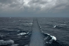 Скрещивание океана дороги моря Стоковые Изображения RF