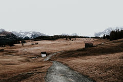 Путь в горах Стоковые Фотографии RF
