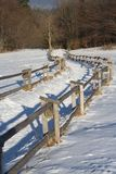 Путь в горе Стоковые Фотографии RF