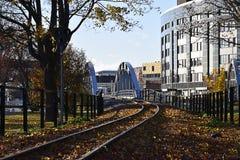 Путь в городок Стоковые Фотографии RF
