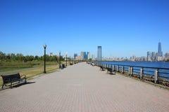 Путь в парке штата свободы Стоковая Фотография