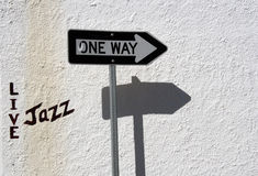 путь в реальном маштабе времени джаза Стоковые Изображения