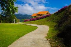 Путь в саде Стоковая Фотография RF
