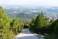 Путь горного села Стоковые Фото