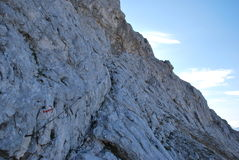 Путь горы в Словении стоковые фотографии rf