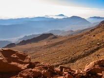 путь горы Синай Египета Стоковые Изображения RF