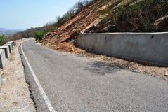 Путь горы форта Джайпура amer Стоковая Фотография
