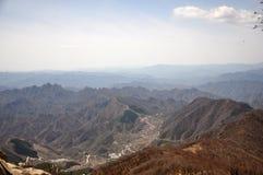 Путь горы Стоковые Изображения RF