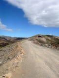 путь горы gran canaria Стоковые Фото