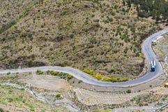 Путь гор атласа Стоковое фото RF