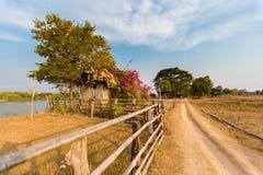 Путь грязи на Дон Det стоковые изображения rf