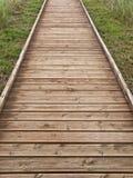 путь деревянный Стоковое Изображение