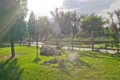 путь загородки Стоковая Фотография
