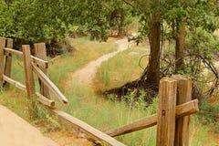 Путь загородки Стоковая Фотография RF