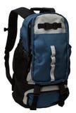 путь изолированный backpack w Стоковая Фотография RF
