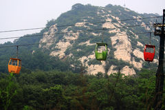 Путь кабеля в Китае стоковые фотографии rf