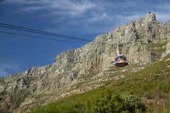Путь кабеля горы таблицы Стоковое Фото