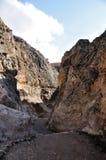 Путь камня Maaloula Стоковые Фотографии RF