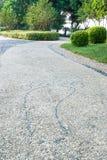Путь камушка Стоковая Фотография RF
