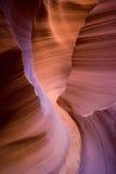 путь каньона антилопы Стоковое Фото