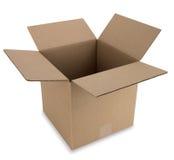 путь картона коробки Стоковая Фотография