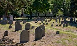 путь кладбища Стоковые Изображения RF