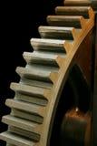путь клиппирования изолированный cogwheel большой старый Стоковое Изображение