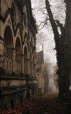 Путь кладбища, Olsany, Прага, чехословакская Стоковые Фотографии RF