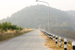 Путь к большой горе Стоковые Фото