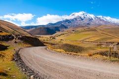 Путь к вулкану Стоковые Изображения RF