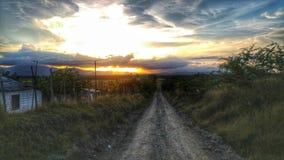 Путь к горам Стоковое Изображение