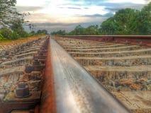 Путь к горизонту Стоковое Изображение RF