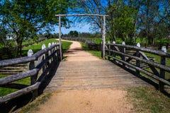 Путь к дому фермы Стоковое Изображение RF