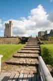 Путь к замку Стоковые Изображения